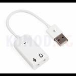 Mac внешняя звуковая USB 7.1