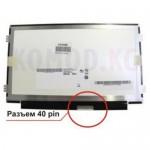 """Матрица 10.1"""" B101AW06 V.1 (1024*600, 40pin, LED, SLIM(горизонтальные ушки), глянцевая, разъем справа внизу, W=233mm) для нетбука"""