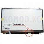"""Матрица 15.6"""" LP156WH3 (1366*768, 40pin, LED, SLIM(вертикальные ушки), глянец, разъем справа внизу) для ноутбука"""
